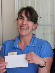Christina Joseph, Summerhill Empolyee of the month for April 2013