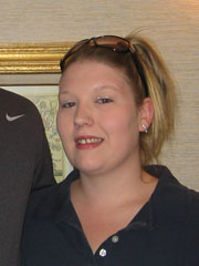 Summerhill Employee of the Month for April Samantha Kelly